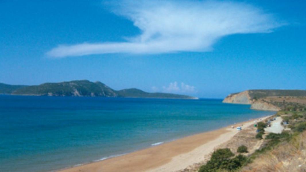 Παραλία Λαμπες στην Φοινικη Μεσσηνιας